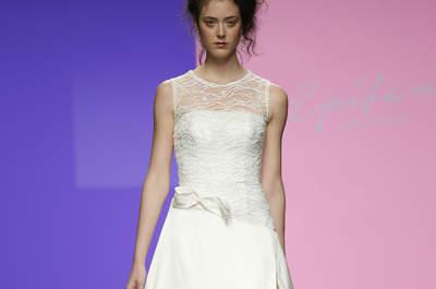 Vestidos de novia Miquel Suay 2016: elegancia y modernidad