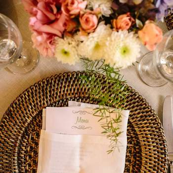 A Real Wedding Decor Inspiration in a House