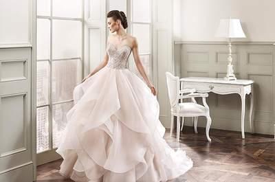 Um vestido de noiva colorido? Claro que sim! Arrasem no dia do vosso casamento!