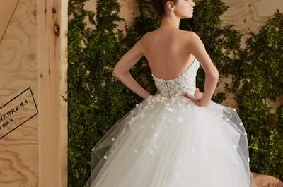 Brautkleider von Carolina Herrera für 2017: Romantik und Eleganz in exquisiten Designs