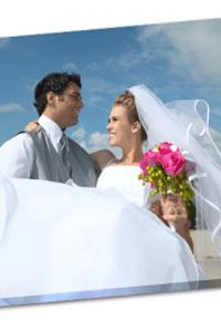 Ihr Hochzeitsfoto auf Leinwand - HalloLeinwand