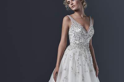 Detalhes impressionantes nos mais lindos vestidos de noiva de Sottero and Midgley para a primavera!