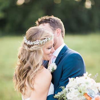 Zauberhafte Blumenkränze 2017! Romantischer Kopfschmuck für die Braut