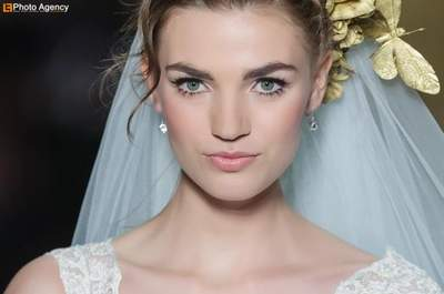 Spectacular Head Pieces by Pronovias 2014