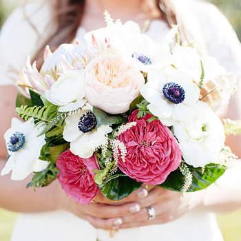 Mit der Anemone im Brautstrauß verzaubern – 2017 mit besonderen Blumen strahlen