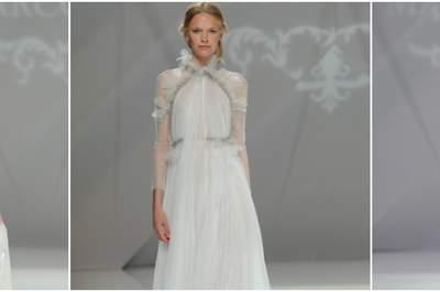 Elige los vestidos de novia Marco & María 2017 para tu próxima boda, ¡romanticismo vintage!