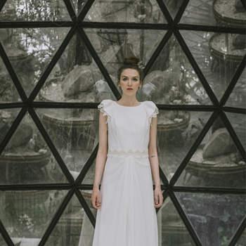 Vestidos de novia cuello redondo 2017: Un diseño que no pasa de moda