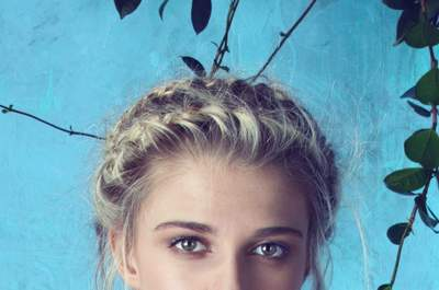Peinados de novia con trenzas 2015: ¡te encantarán!
