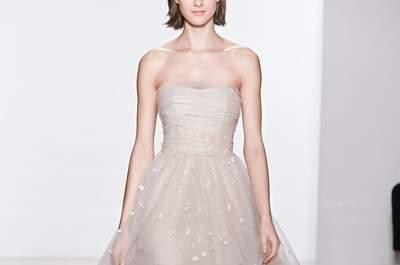 Christos Bridal Collection Spring/Summer 2015 at the New York Bridal Week