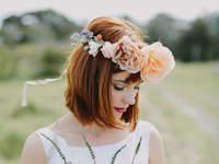 Peinados de novia con flequillo 2016: luce perfecta