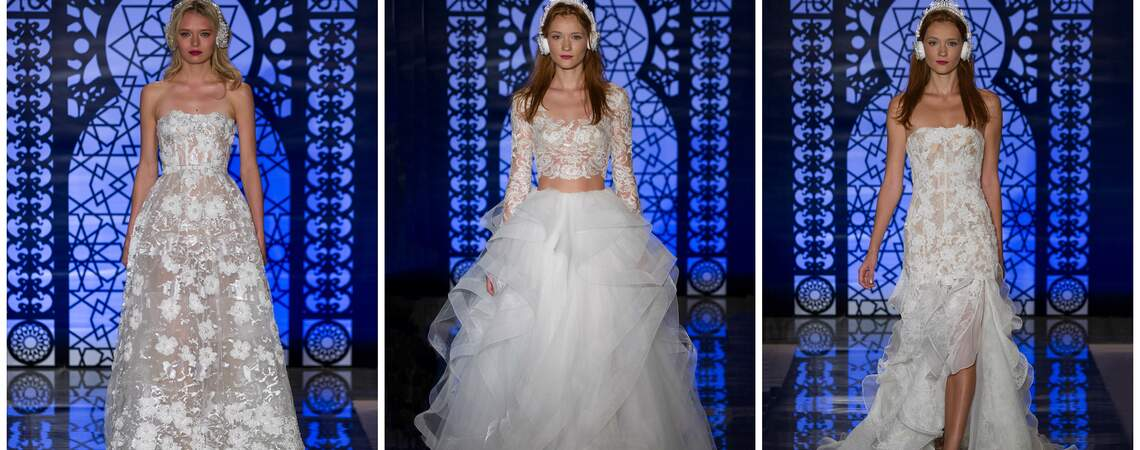 Reem Acra Fall 2016 Bridal Collection: Lighter than Air