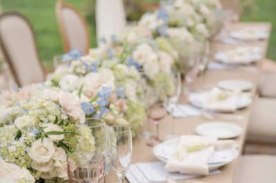 Striking Wedding Table Plate Settings 2016