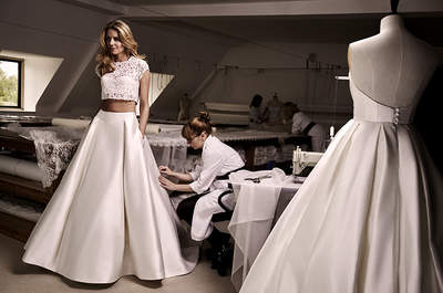 Caroline Castigliano 2016- THE designer for luxury British Wedding Dresses