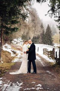 Die Glamour-Alpin-Hochzeit.