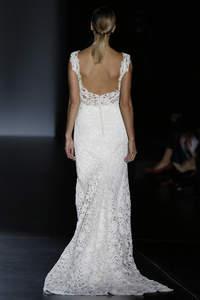 Vestidos de noiva com decote nas costas 2016