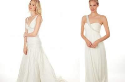 Colección de vestidos de novia sencillos de Nicole Miller – Primavera 2013