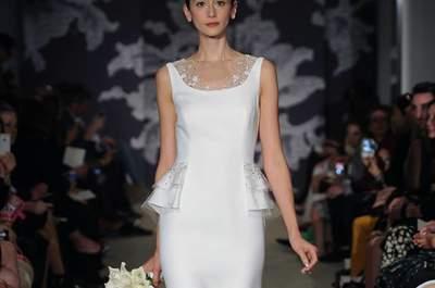 Collezione Sposa Carolina Herrera 2015, il trionfo della primavera alla New York Bridal Week
