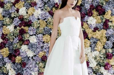 Vestidos de novia Colour Nude 2017. ¡Te encantarán sus propuestas!