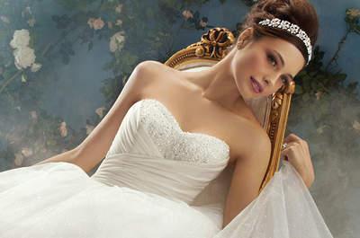 A nossa selecção dos melhores vestidos Disney Fairytale Weddings de Alfred Angelo