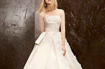 Vestidos de novia económicos Vera Wang para boda 2013