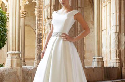 Raimon Bundó 2015: vestidos de novia elegantes y sencillos