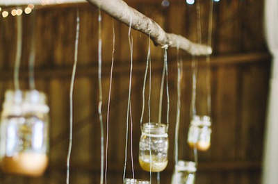 Decor Highlights: Hanging Gardens & Lanterns for your Wedding