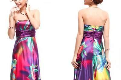 Vestidos de fiesta largos 2016: ¡ideales para un matrimonio de noche!