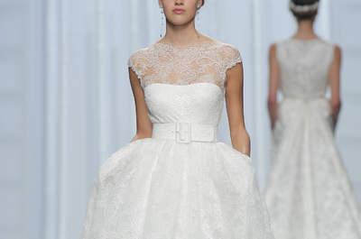 50 modelos de vestidos de novia corte princesa para el 2016 que querrás vestir el día de tu boda