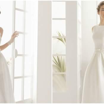 Descubre los vestidos de novia Aire Barcelona 2016 ¡ideales para una novia elegante!