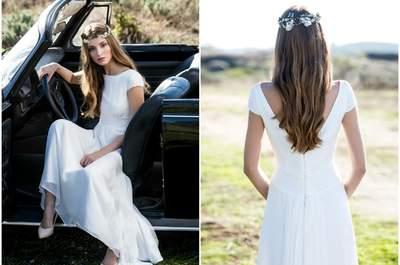 Descubre el look de tus sueños en la nueva colección de vestidos de novia David Christian 2016. ¡Te encantará!