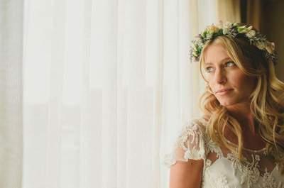 En tu boda... ¡no te la juegues y brilla con luz propia!