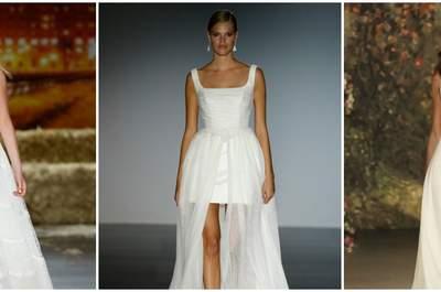 Vestidos de novia para mujeres con mucho pecho 2016, ¡volúmenes elegantes!