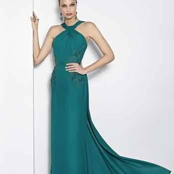 Imperdibles vestidos de fiesta verdes 2017. ¡Detalles extraordinarios que te encantarán!