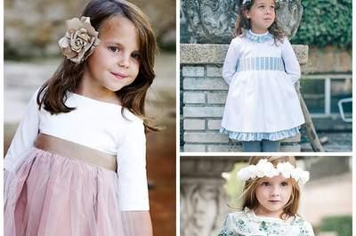 Los niños en la boda: trajes de arras muy especiales