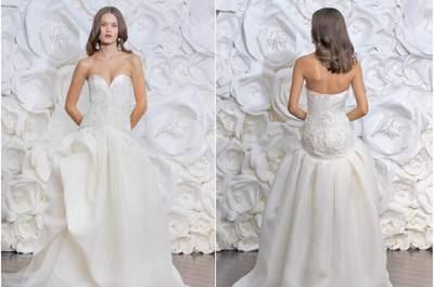Зимние свадебные платья от Naeem Khan: идеальный зимний образ