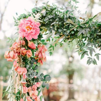 Guirnaldas: Lo más trendy en decoración de bodas 2016