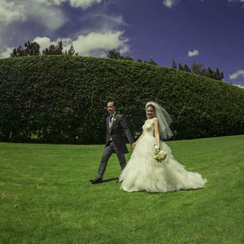 Apuesta por las exclusivas fotografías de Ximena Zermeño para reportaje de boda
