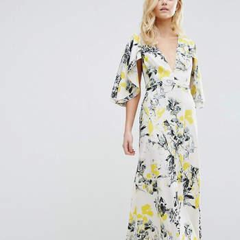 28 robes de soirée à imprimés 2017 : de la couleur et du pep's pour votre tenue d'invitée