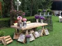 Jardines boda en México DF
