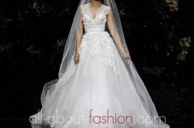 Brautkleider von Elie Saab für Pronovias aus der Kollektion 2013