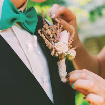 Boutonniere für den Bräutigam – Diese Ansteckblumen sind der letzte Schliff!