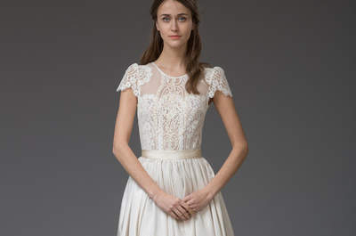 Vestidos de novia vintage 2016: La colección de Katya Katya Shehurina para las más románticas