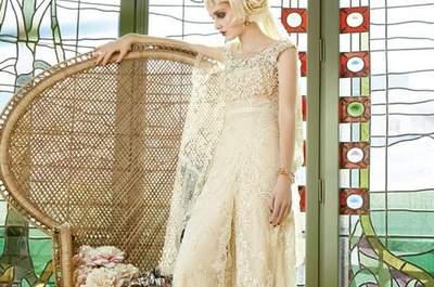Vestidos de noiva vintage de Yolan Cris