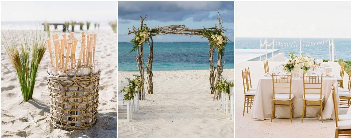 Dekoracje ślubne na ślub na plaży 2017! Niech Twój ślub wygląda jak z bajki.