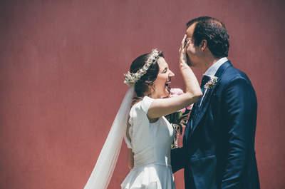 Imágenes que emocionan y cuentan historias para no olvidar: la boda de Isabel y Álvaro