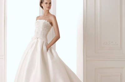 2015 Trends: Strapless gowns for a classic and elegant bride