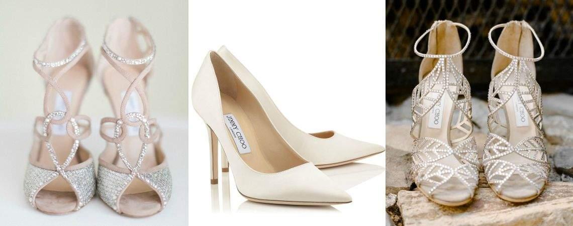 Kies voor de luxueuze bruidsschoenen van Jimmy Choo voor 2016!