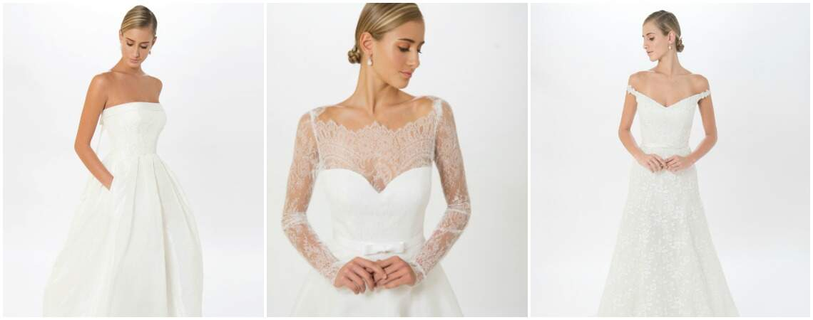 Check out the fab wedding dresses from US designer Jude Jowilson!