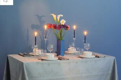 Quelles nappes pour votre mariage en 2016? Les meilleures tendances déco de table !