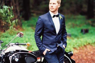 Los 8 accesorios que harán que tu novio esté más guapo aún el día de la boda